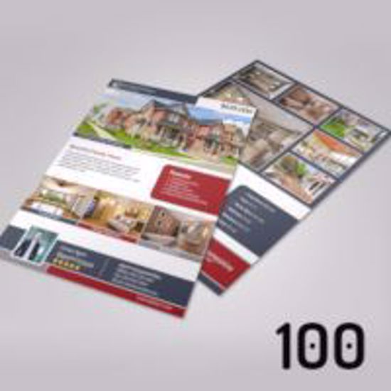 A4 Property Brochures - 100
