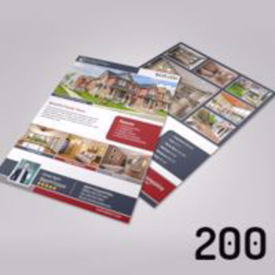 A4 Property Brochures - 200